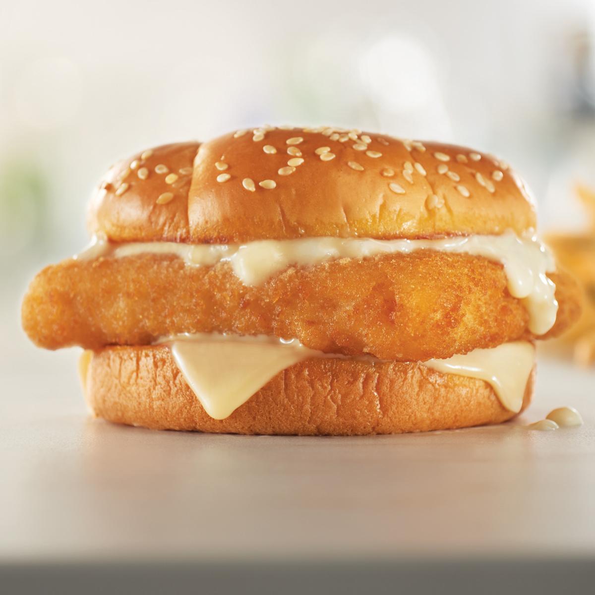 Crispy Cod Fish Sandwich