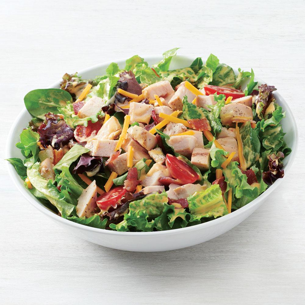 Chicken Bacon Chipotle Ranch Salad