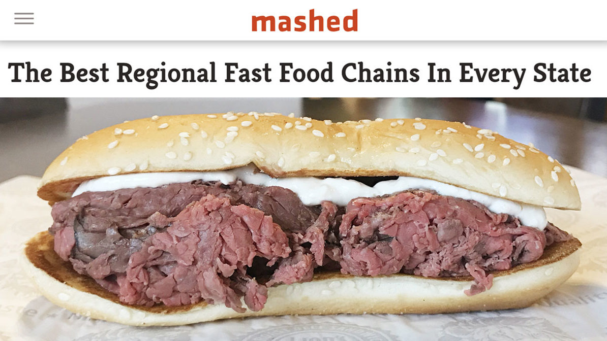 The Best Regional Fast Food Chains In Every State